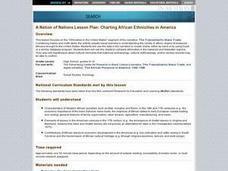 A Nation of Nations Lesson Plan: Charting African Ethnicities in America Lesson Plan