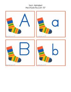 Alphabet Cards Worksheet