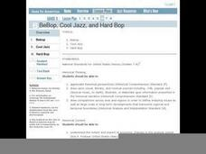 Jazz in America Lesson Plan 6 Lesson Plan