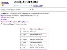 Lesson 3: Map Skills Lesson Plan