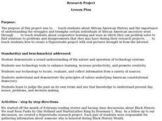 Research Project Activities & Project