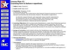 Learning how to balance equations Lesson Plan