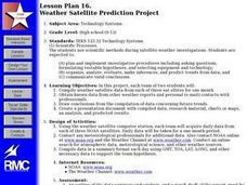 WEATHER SATELLITE PREDICTION PROJECT Lesson Plan