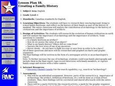 Creating a Family History Lesson Plan