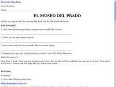 The Prado Museum Lesson Plan
