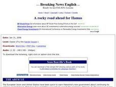 A Rocky Road Ahead for Hamas Worksheet