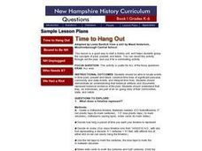 Time to Hang Out Lesson Plan