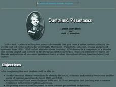 Sustained Resistance Lesson Plan