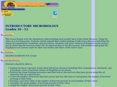 Introductory Microbiology Lesson Plan
