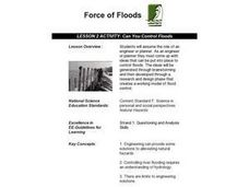 Can You Control Floods Lesson Plan