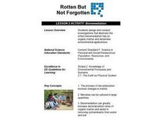 Bioremediation Lesson Plan