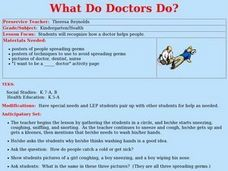 What Do Doctors Do? Lesson Plan