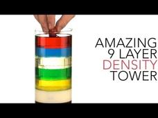 Amazing 9 Layer Density Tower Video