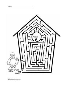 Amazing Mazes Worksheet