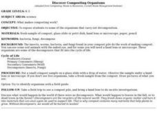DISCOVER COMPOSTING ORGANISMS Lesson Plan