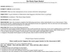 The Waste Paper Basket Lesson Plan