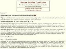 Borders Within: Social Interaction on the Border Lesson Plan