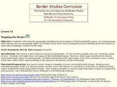 Mapping the Border Lesson Plan