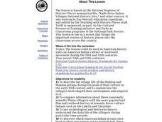 Knife River Indian Villages National Historic Site Lesson Plan