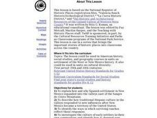 New Mexico: Early Settlements Lesson Plan