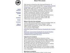 Finnish Log Structures Lesson Plan