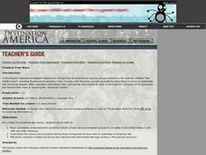Immigration to America Lesson Plan