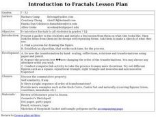 Introduction to Fractals Lesson Plan