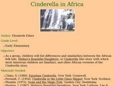 Cinderella in Africa Lesson Plan