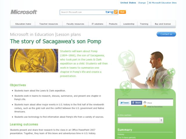 Do You Know the Story of Pomp? Lesson Plan