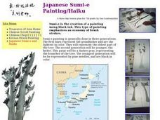 Japanese Sumi-e Painting/Haiku Lesson Plan