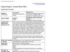 Longitude & Latitude Lesson Plan