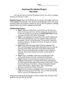 Acrostic Boston Tea Party Lesson Plans & Worksheets