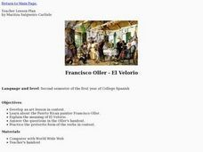 Francisco Oller - El Velorio Lesson Plan