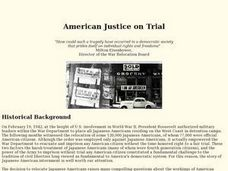 American Justice on Trial Lesson Plan