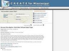 Across Five Aprils-Civil War Virtual Field Trips Lesson Plan