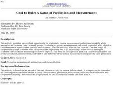 Cool to Rule: A Game of Prediction and Measurement Lesson Plan