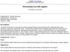 Measuring Up with Apples Lesson Plan