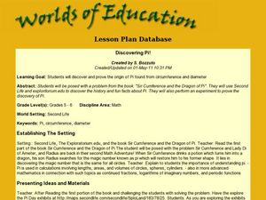 Discovering Pi Lesson Plan