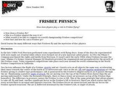 Frisbee Physics Lesson Plan