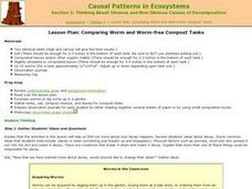 Causal Patterns in Ecosystems Section 3 Lesson Plan