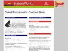 Natural Communication Lesson Plan
