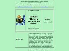 Theory, Theory, Who's got the theory? Lesson Plan