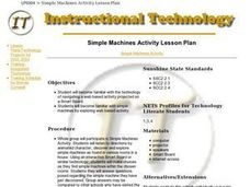 Simple Machines Activity Lesson Plan Lesson Plan