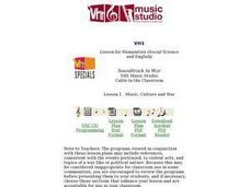 Music, Culture and War Lesson Plan