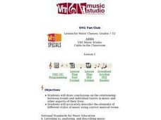 VH1 Fan Club ABBA  Lesson 1 Lesson Plan