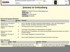 Journey to Gettysburg Lesson Plan