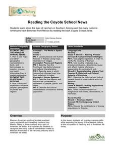 Reading the Coyote School News: Lives of Ranchers in Southern Arizona Lesson Plan