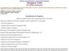 Magnet Unit Lesson Plan