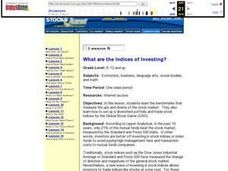 Lesson 9 What are the Indices of Investing? Lesson Plan