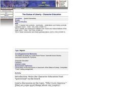 The Statue of Liberty - Character Education Lesson Plan